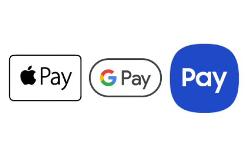 Apple Pay, Android Pay, Samsung Pay